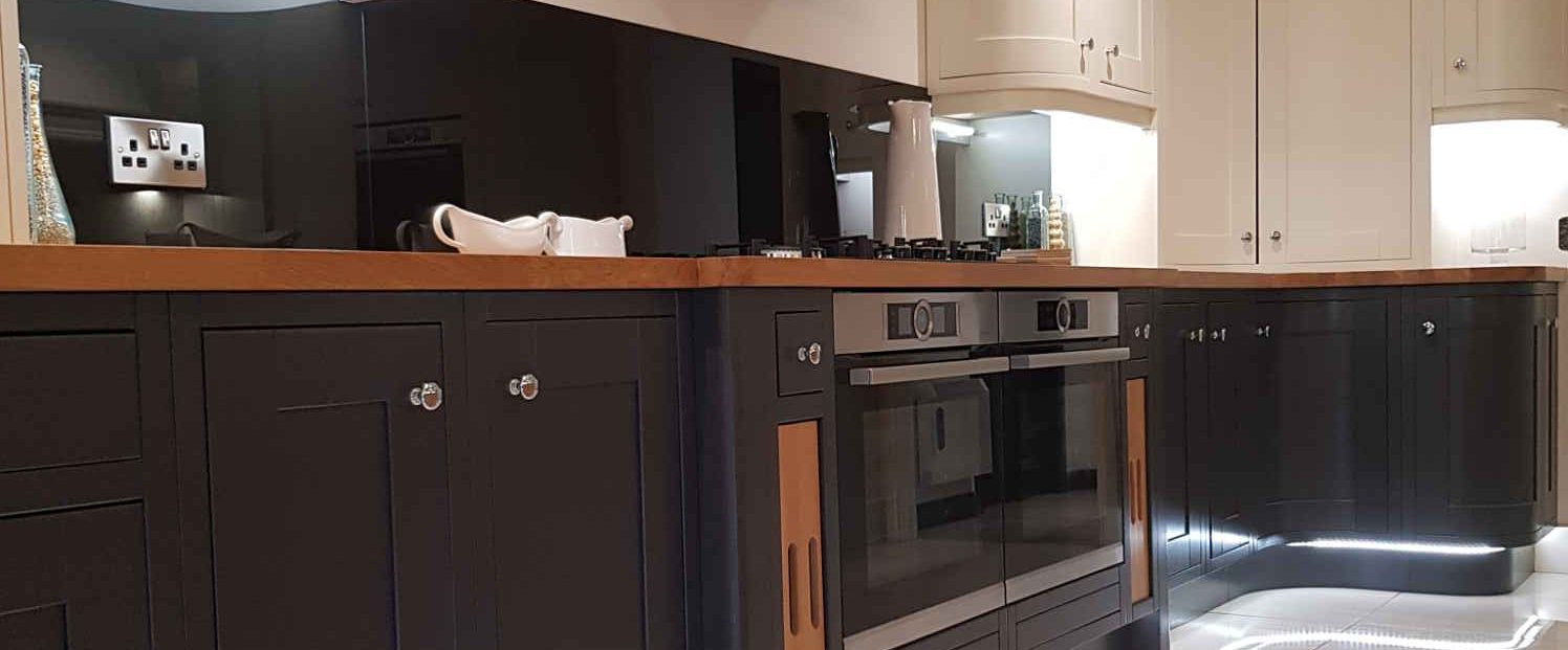 The Janus Interiors kitchen showroom in Bingley