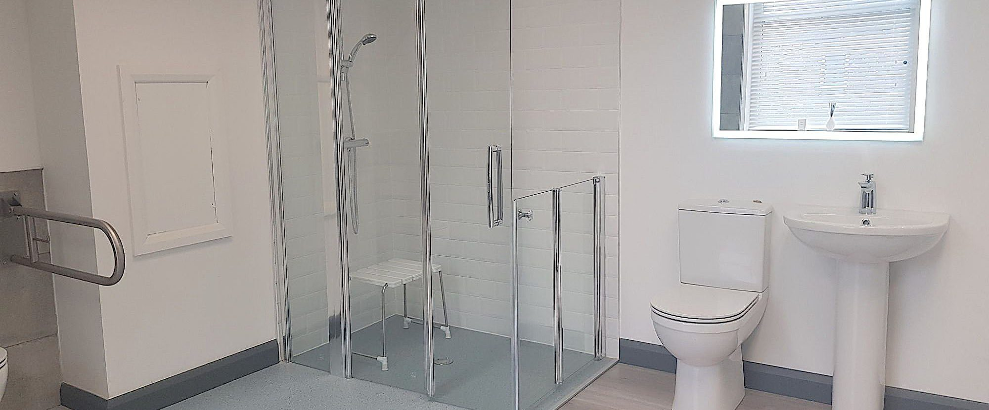 accessible bathroom for disabled access