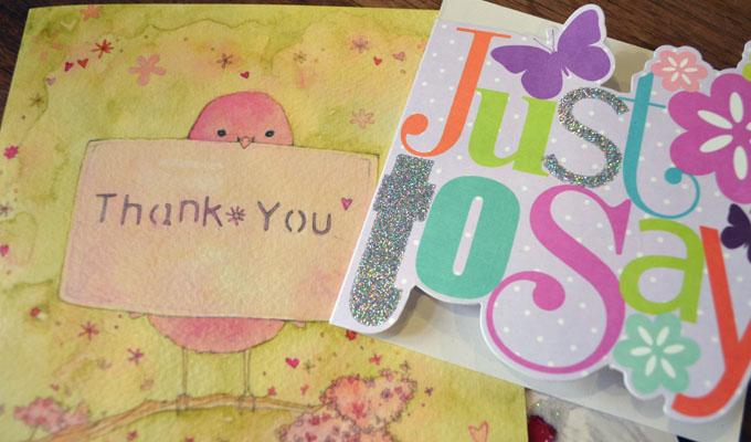testimonial thank you cards