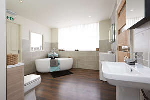 The Janus Interiors bathroom showroom at Bingley near Bradford