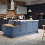 PlannSheraton Kitchens - The Sheraton Harmony in Indigo blue and sky slate