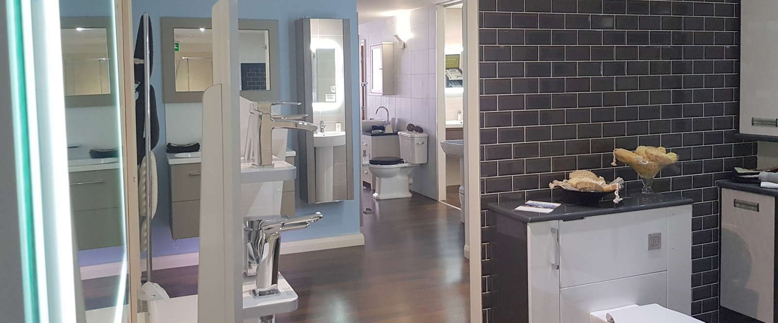 Janus Interiors bathroom showroom in Bingley