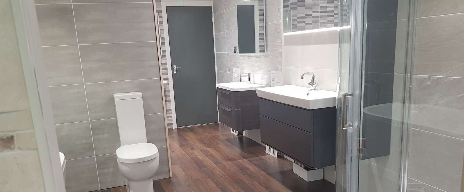 bathroom showroom at Bingley Yorkshire