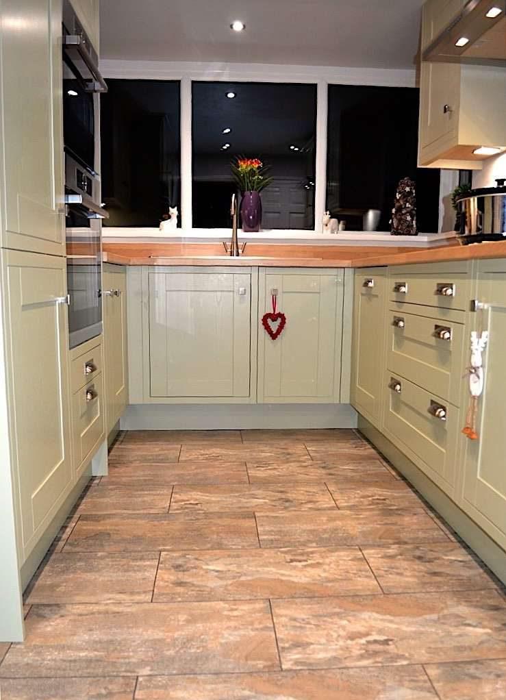 new shaker kitchen installed in Baildon near Bradford