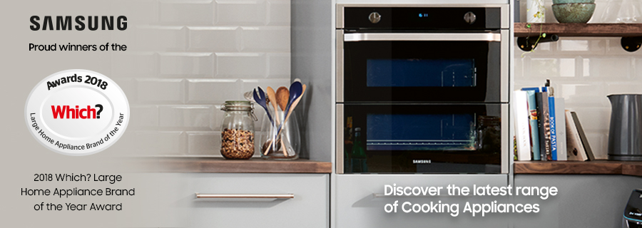 Samsung award winning cookers and home appliances