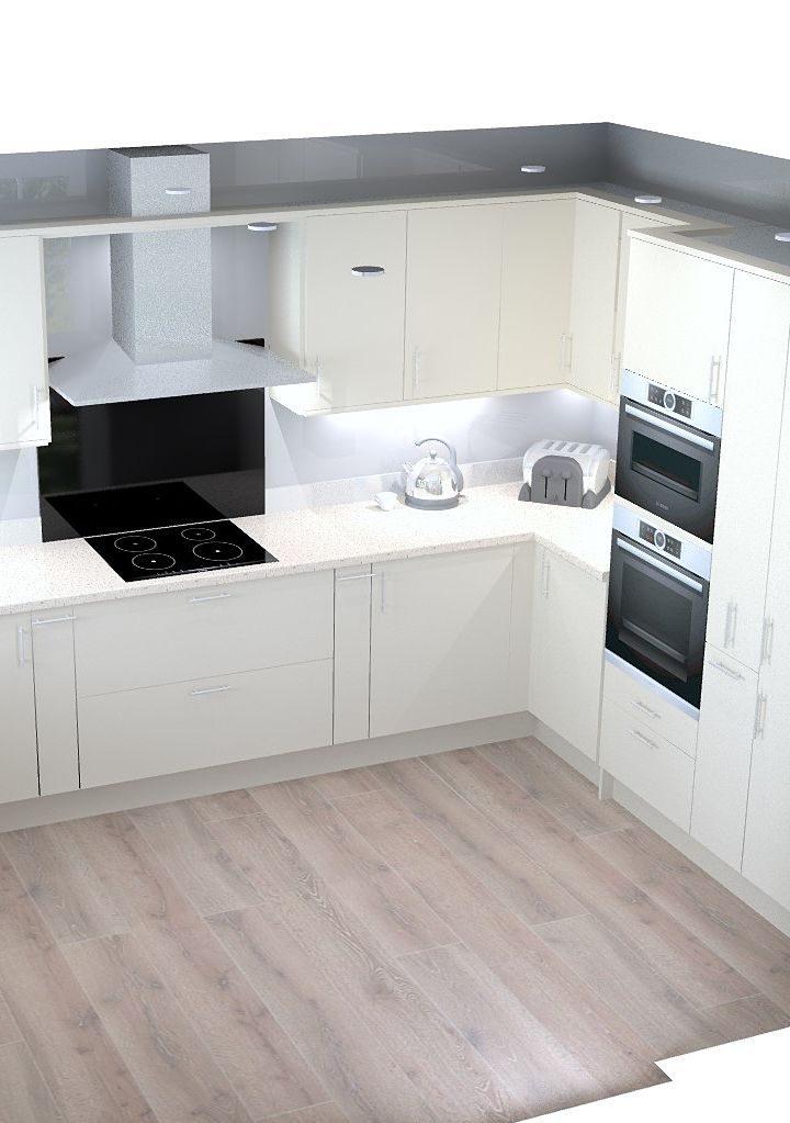 3d CAD Kitchen Design