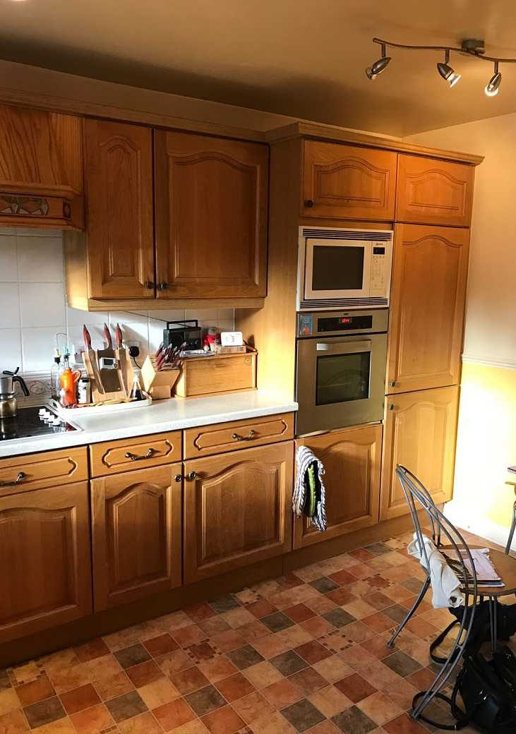 Before - The old kitchen