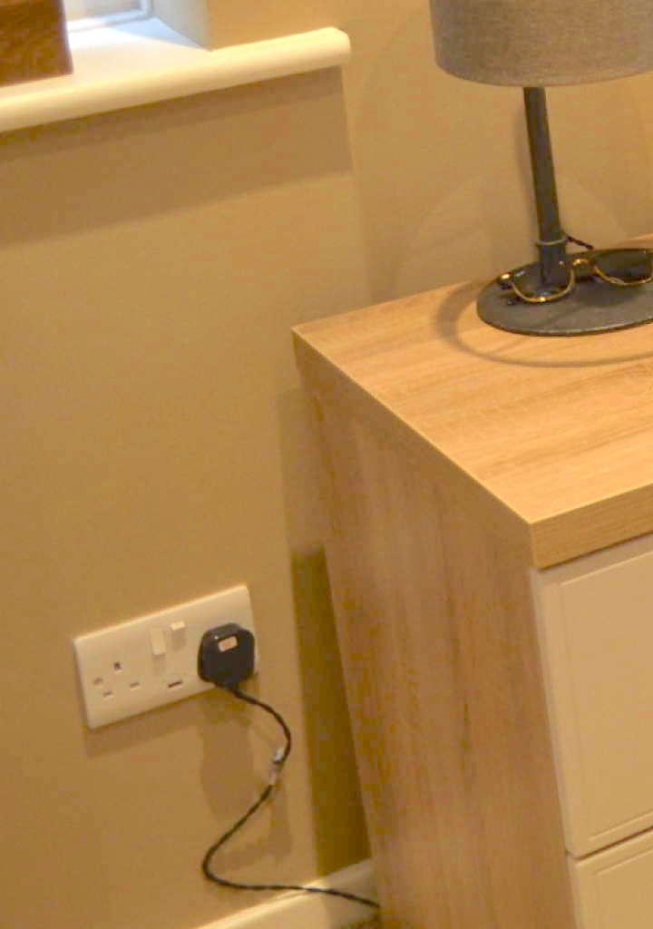 usb charging wall socket