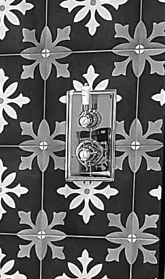 retro shower control taps