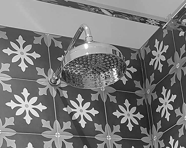 traditional shower head