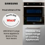Samsung built in kitchen appliance Which? recommended award