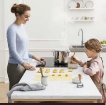 child safely features on Samsung cooking appliances give peace of mind