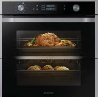 Samsung dual cook oven allows two temperatures to be set independently