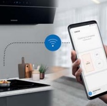 get cooking alerts and control your oven and hob direct from your phone with Samsungs smart connected built in kitchen appliances