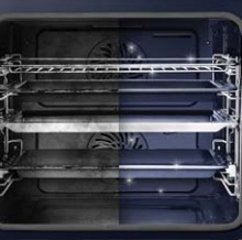 pyrolytic self cleaning Samsung dual cook oven