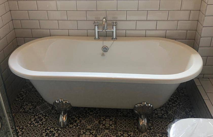 period style roll top bath at Ilkley bathroom