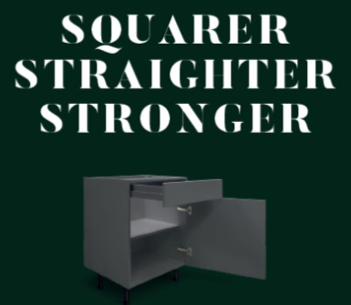 Sheraton squarer straighter stronger kitchen unit carcase