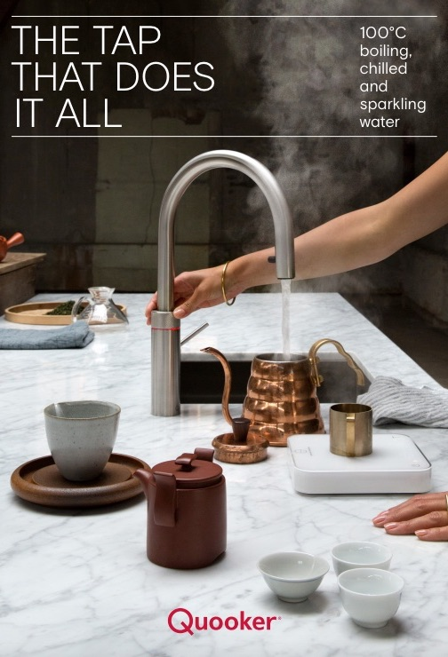 Quooker Tap with boiling water