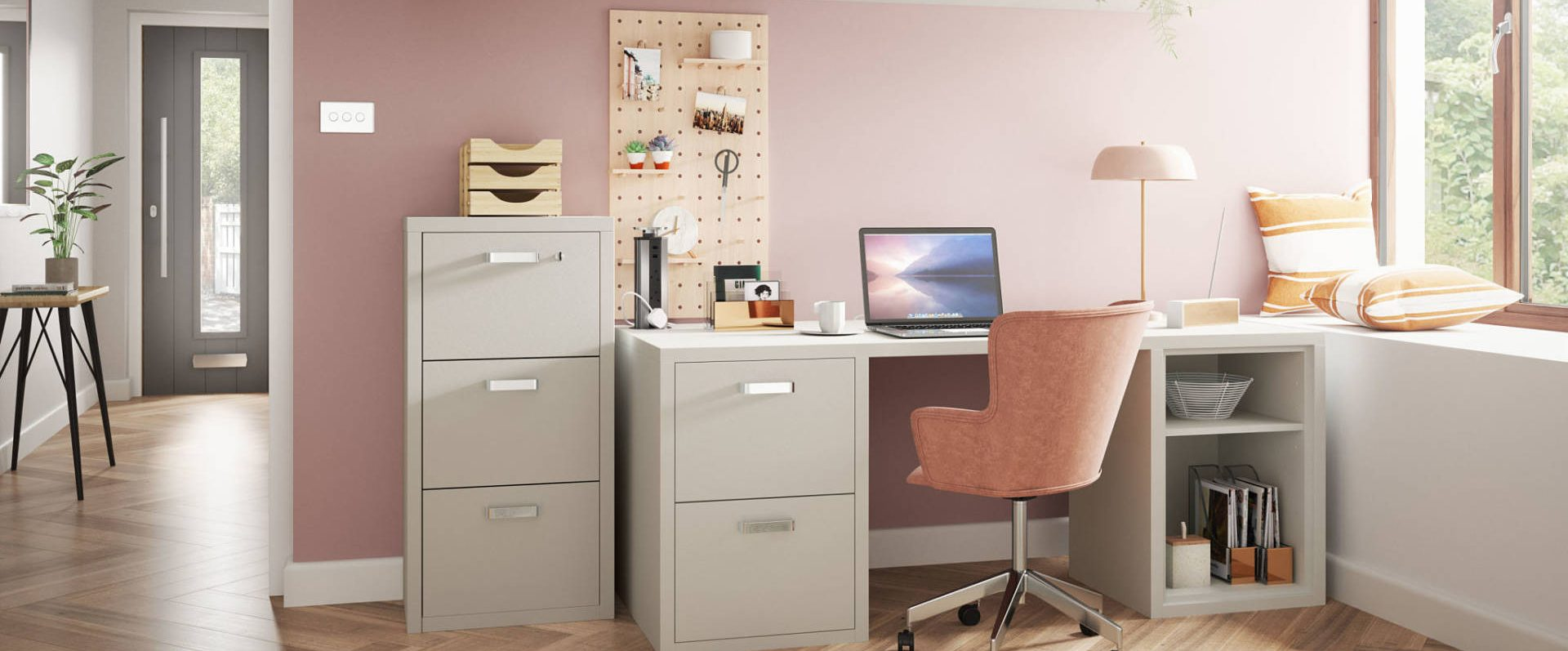 Home Office in hallway - Urbano range by Symphony