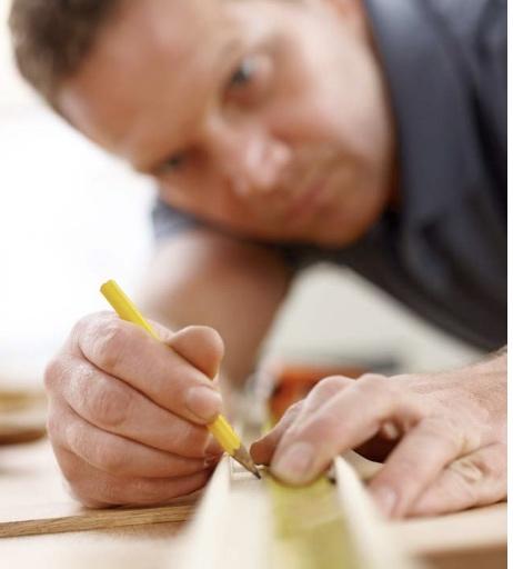 Yorkshire kitchen designer at work